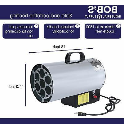 BISupply Propane Heater 60k Indoor 1500sq
