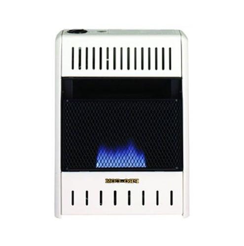 blue flame wall heater