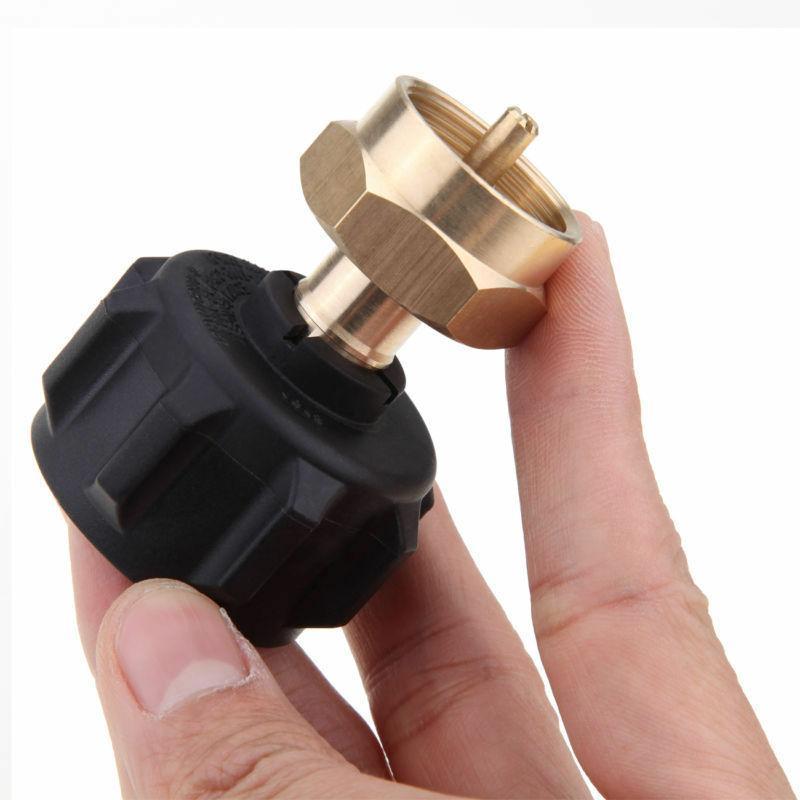 Brass Propane Refill Lp Gas 1Lb Cylinder Tank Coupler