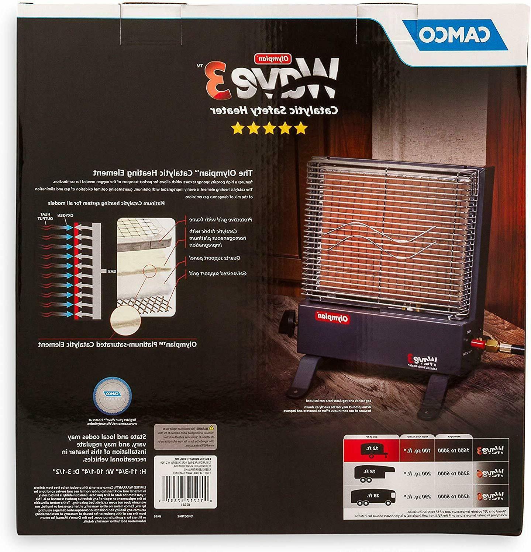 Camco Olympian Heater Portable 3000 BTU
