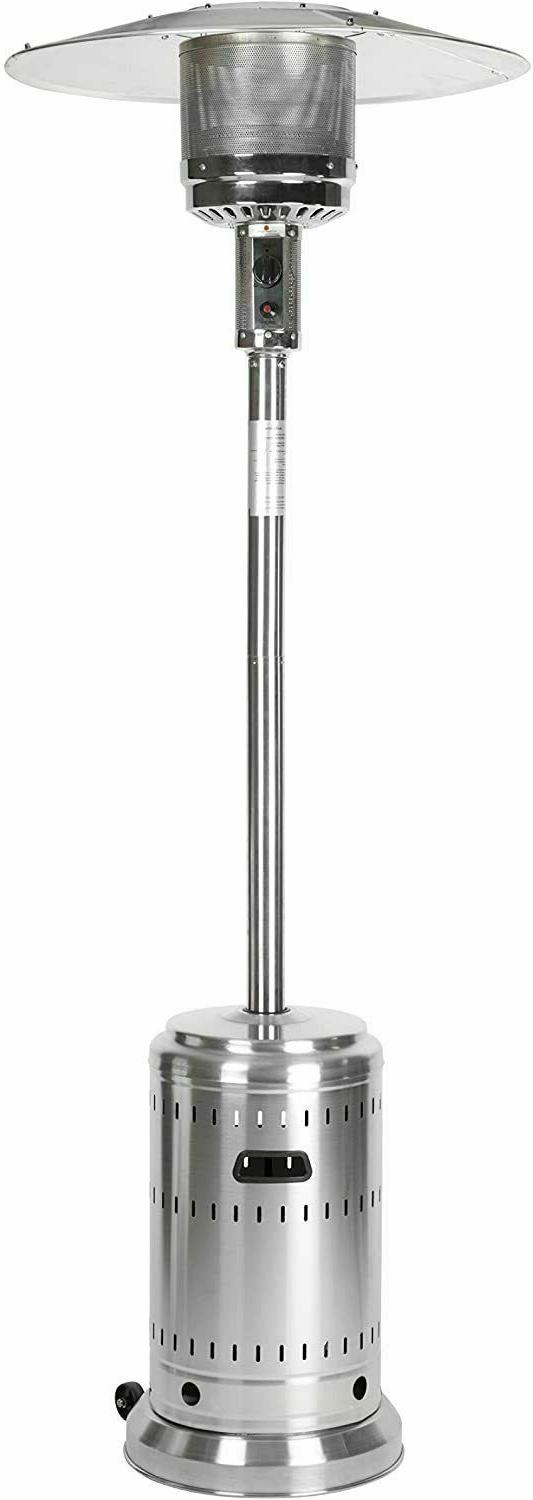 AmazonBasics Commercial Outdoor Patio Heater, Stainless Stee