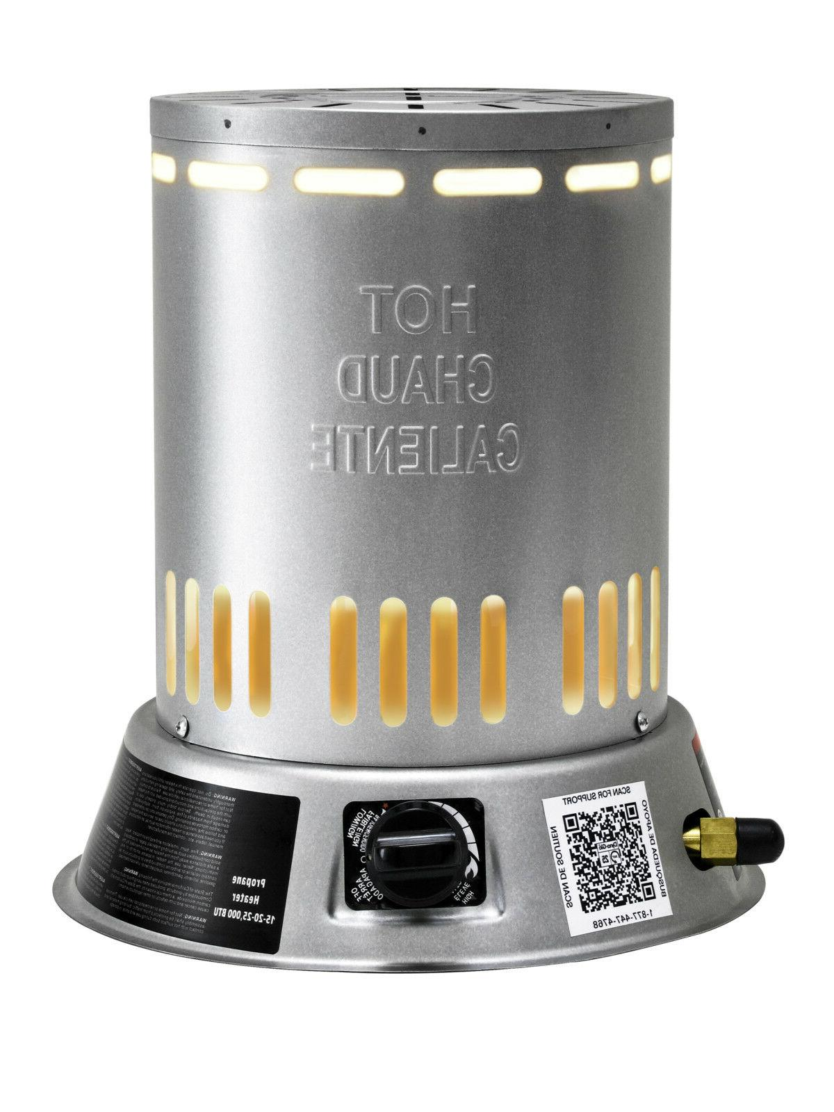 Convection Space Heater Liquid Propane Automatic Shutoff In/