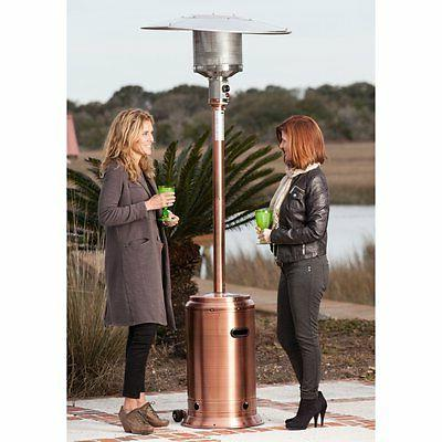 copper commercial patio heater brass