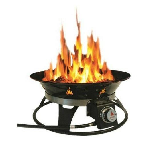 Outland Living Cypress Steel Propane Fire Pit on Outland Living Cypress Fire Pit id=38895