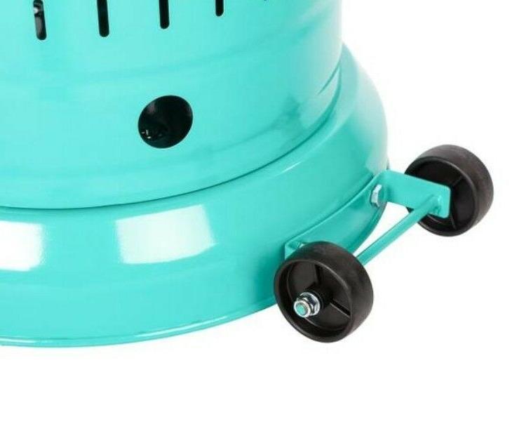 Fire Sense Deluxe Propane Heater Aqua