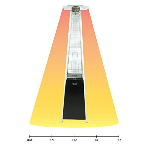 Dyna-Glo Black Pyramid Flame Heater