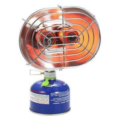 Double Heater Infrared Ray Camping Heating Stove