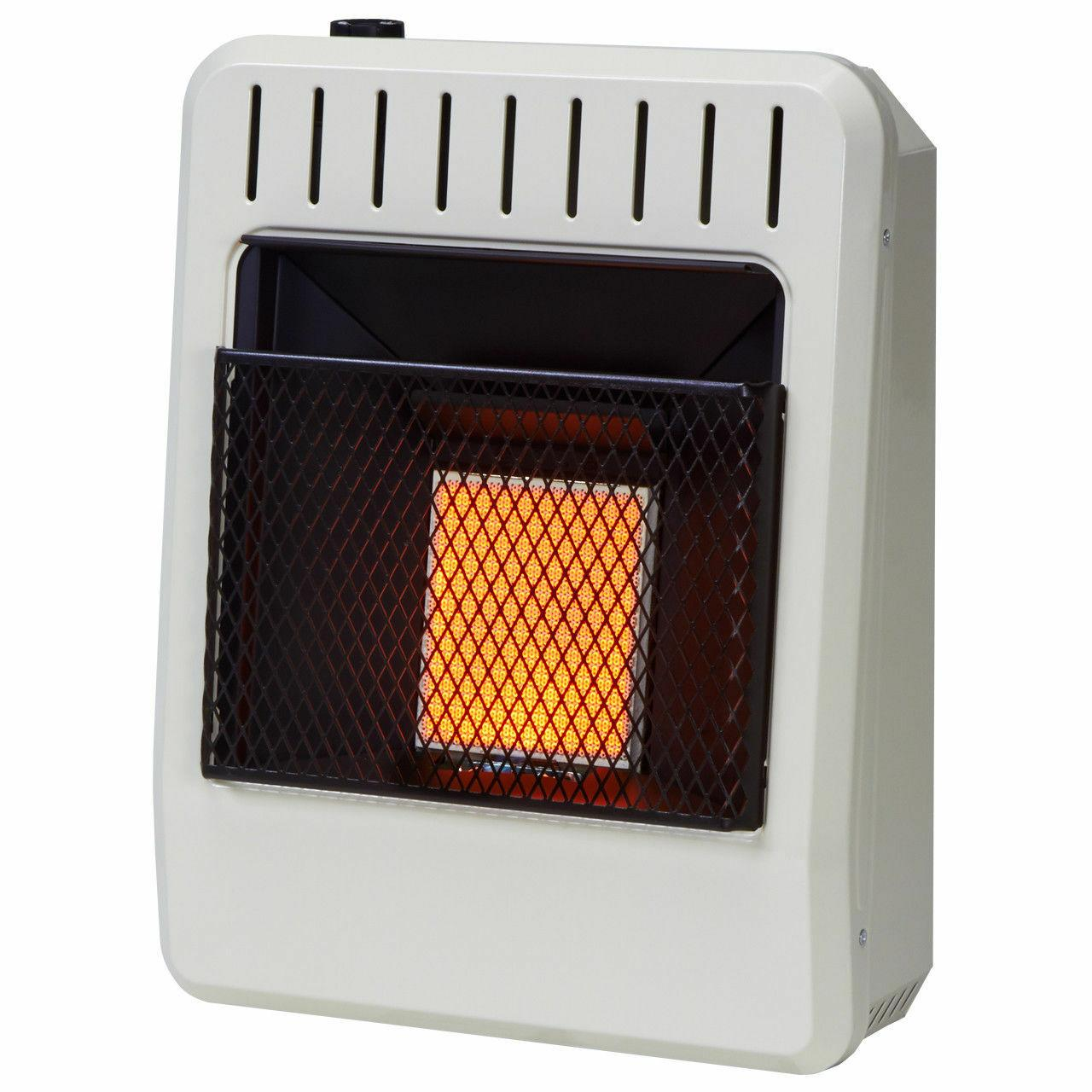 Avenger Dual Fuel Infrared Heater Natural