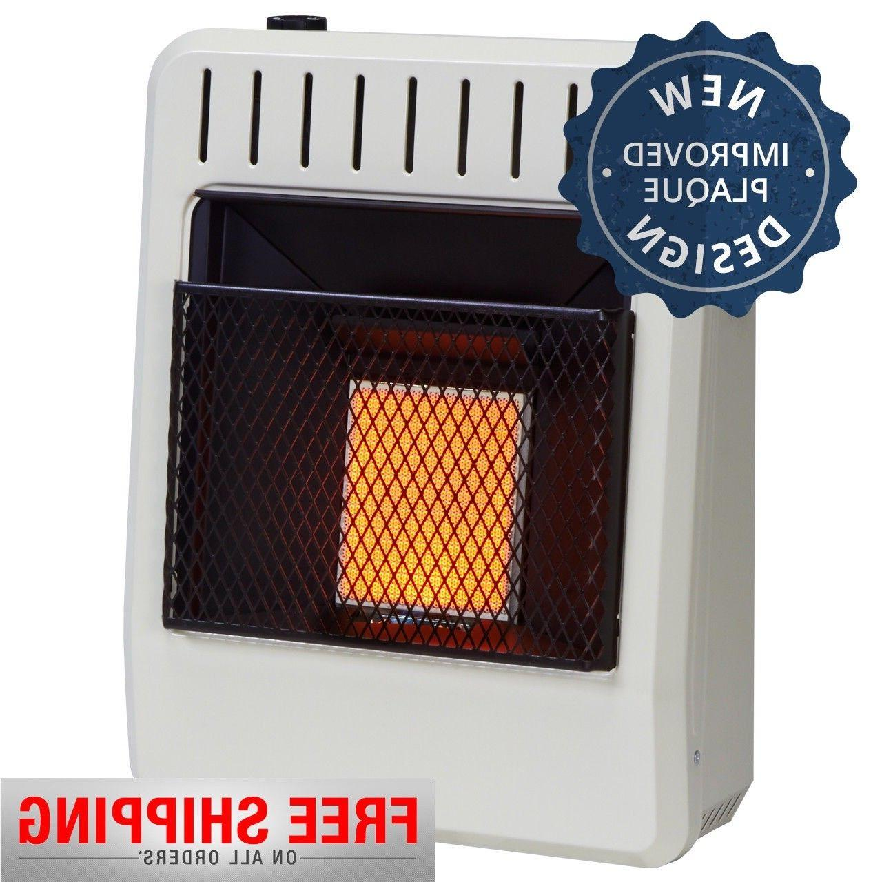 dual fuel ventless infrared heater natural gas