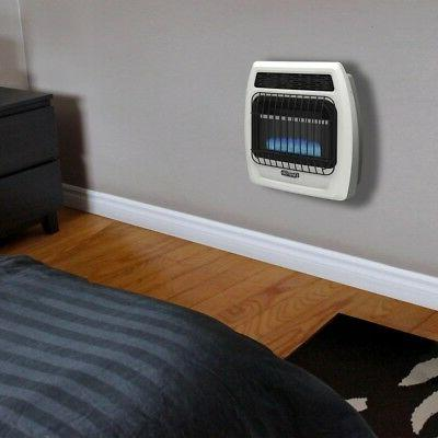 Dyna-Glo 10,000 Propane Blue Flame Free Thermostatic Wall