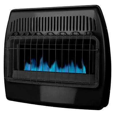 Dyna-Glo Dual Fuel Garage Heater 30,000 BTU Blue Flame Vent