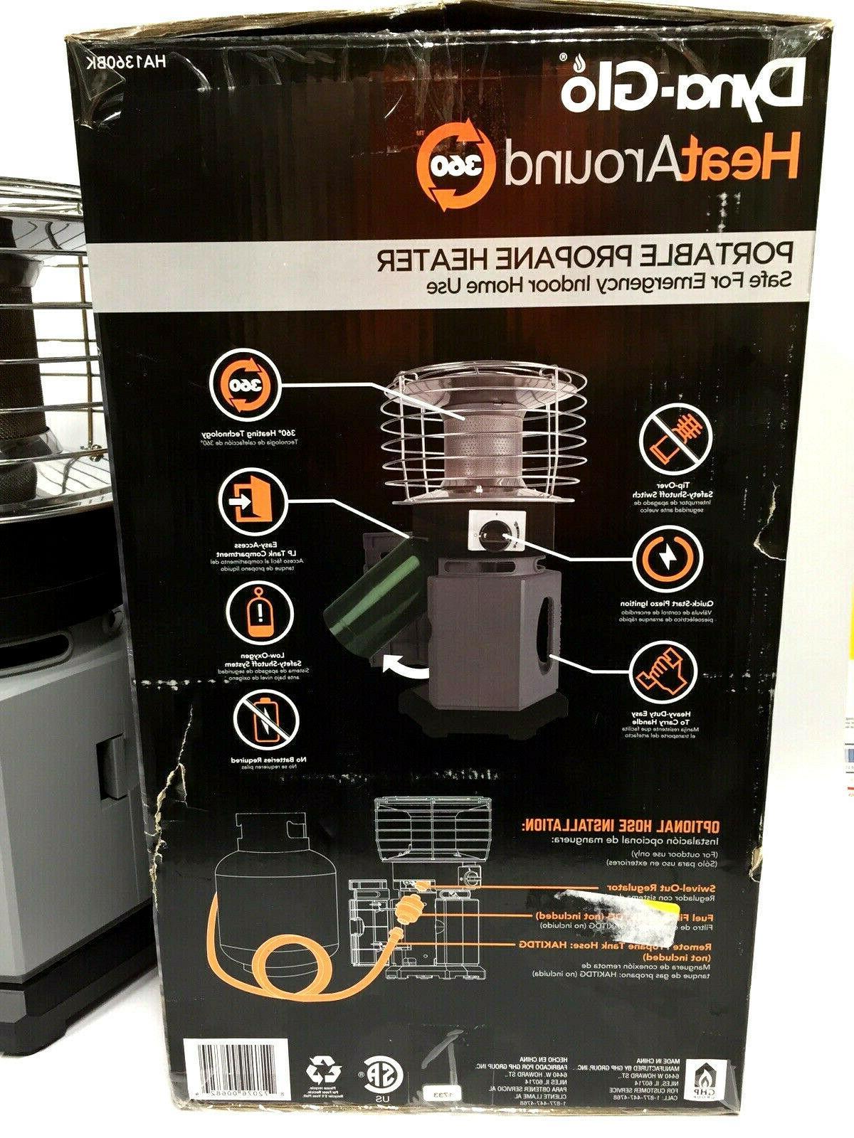 Dyna-Glo HeatAround 10000 BTU Propane Heater