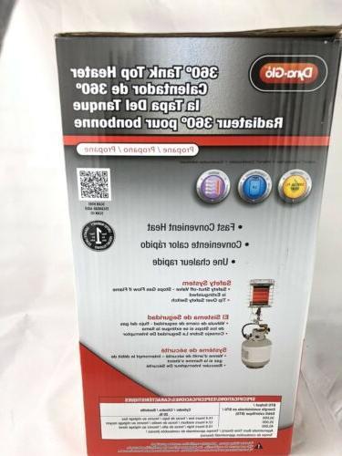 Dyna-Glo 40,000-BTU 360-Degree Top Radiant