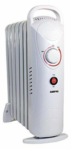 Optimus 700-Watt Electric Portable Oil-Filled Radiator Heate