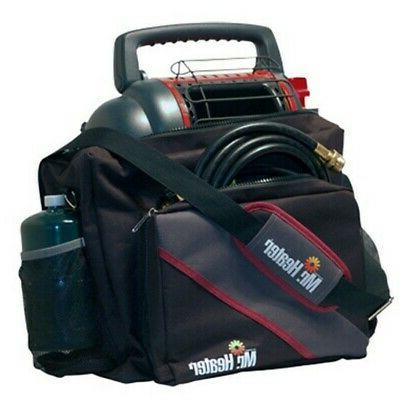 f232078 black polyester portable buddy propane heater