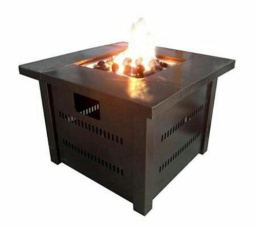 Fire pit - Hammered powder coated finish