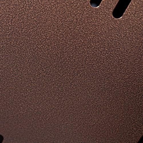 Fire - Hammered Bronze coated finish