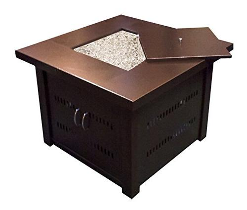 Fire pit with -