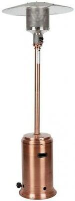 Fire Sense Propane Patio Heater 46,000 BTU Portable Adjustab