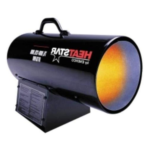 forced air variable propane heater