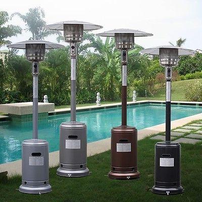 Garden Outdoor Patio Propane Standing Steel New