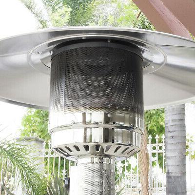 Garden Outdoor Patio Heater Propane Stainless w/accessories New
