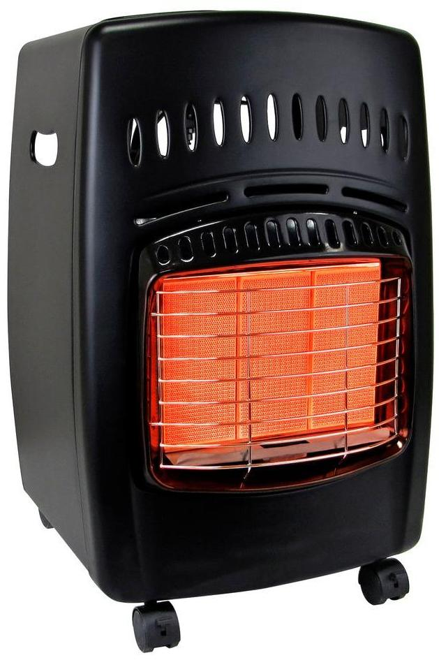 gas portable heater 18k btu propane cabinet