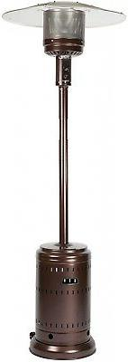 hammer tone bronze commercial patio heater