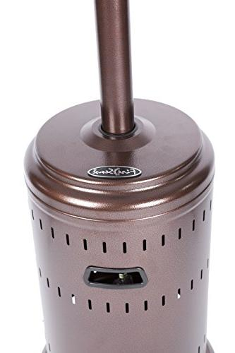 Fire Sense Tone Bronze Heater