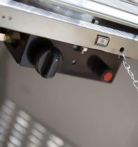 AZ Patio Heaters Commercial Glass Heater, Bronze