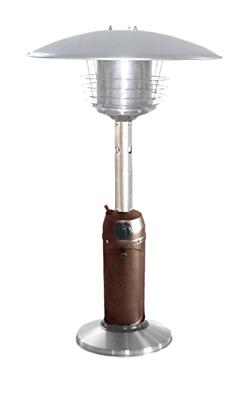 AZ Patio Heaters HLDS032-BB Portable Table Top Stainless Ste