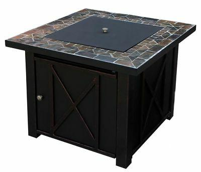 Lpg Gas Bowl Cover Pit Fireplace Propane Patio
