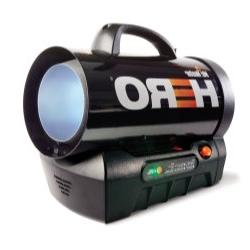 MH35CLP-Hero Cordless Forced Air Propane Heater, 35,000BT to