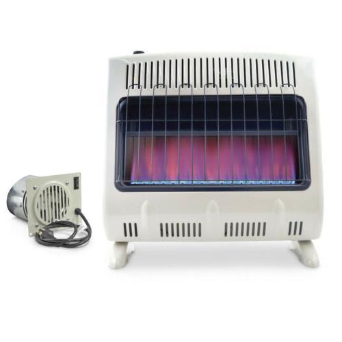 mr heater 30k vent free blue flame