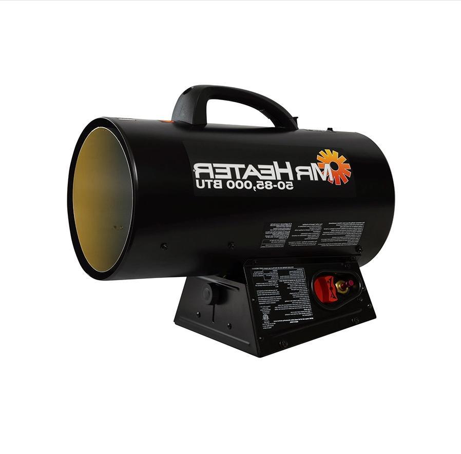 Mr. Heater 50,000-85,000 BTU Forced Air Propane Indoor New