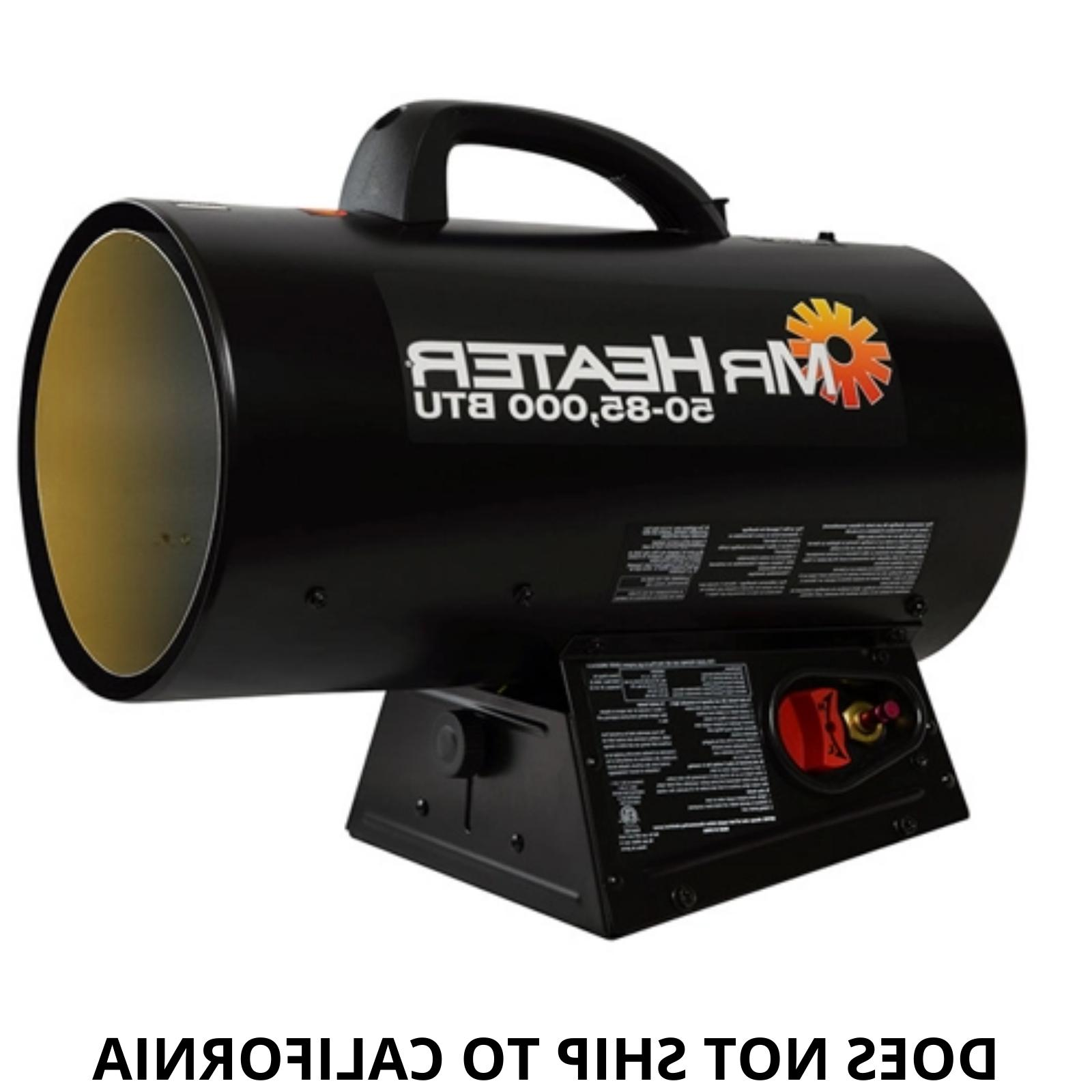 Mr. Heater 50,000-85,000 BTU Forced Heater Indoor Outdoor 110 V New
