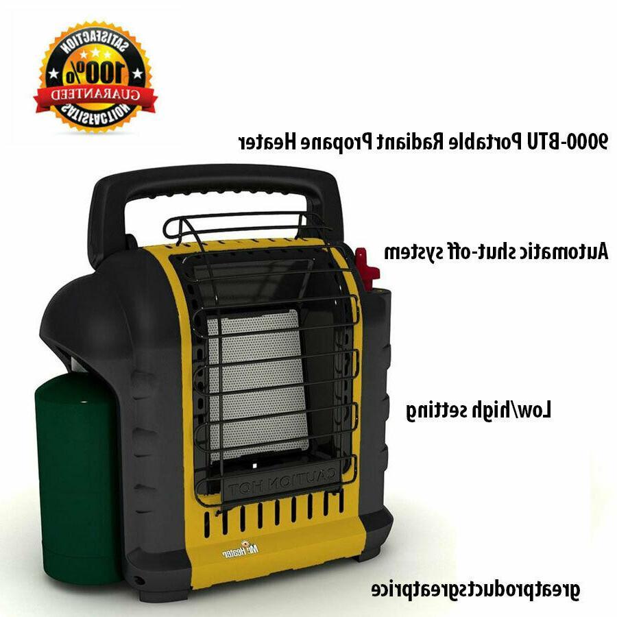 Mr. Heater 9000-BTU Indoor Safe Garage Camping Radiant Propane