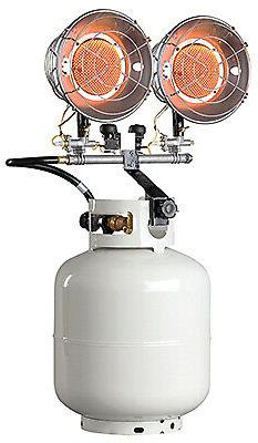 Mr. Heater F242650 Tank-Top Propane Heater, 30,000-BTU - Qua