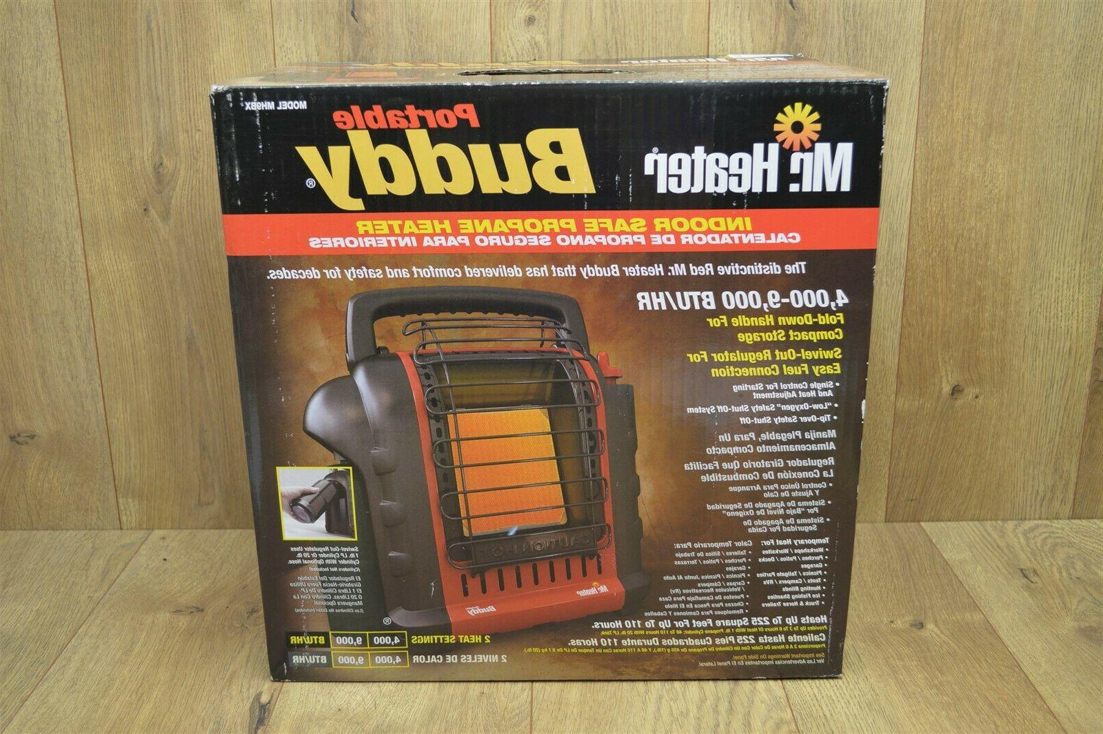 mr heater portable buddy propane heater mh9bx