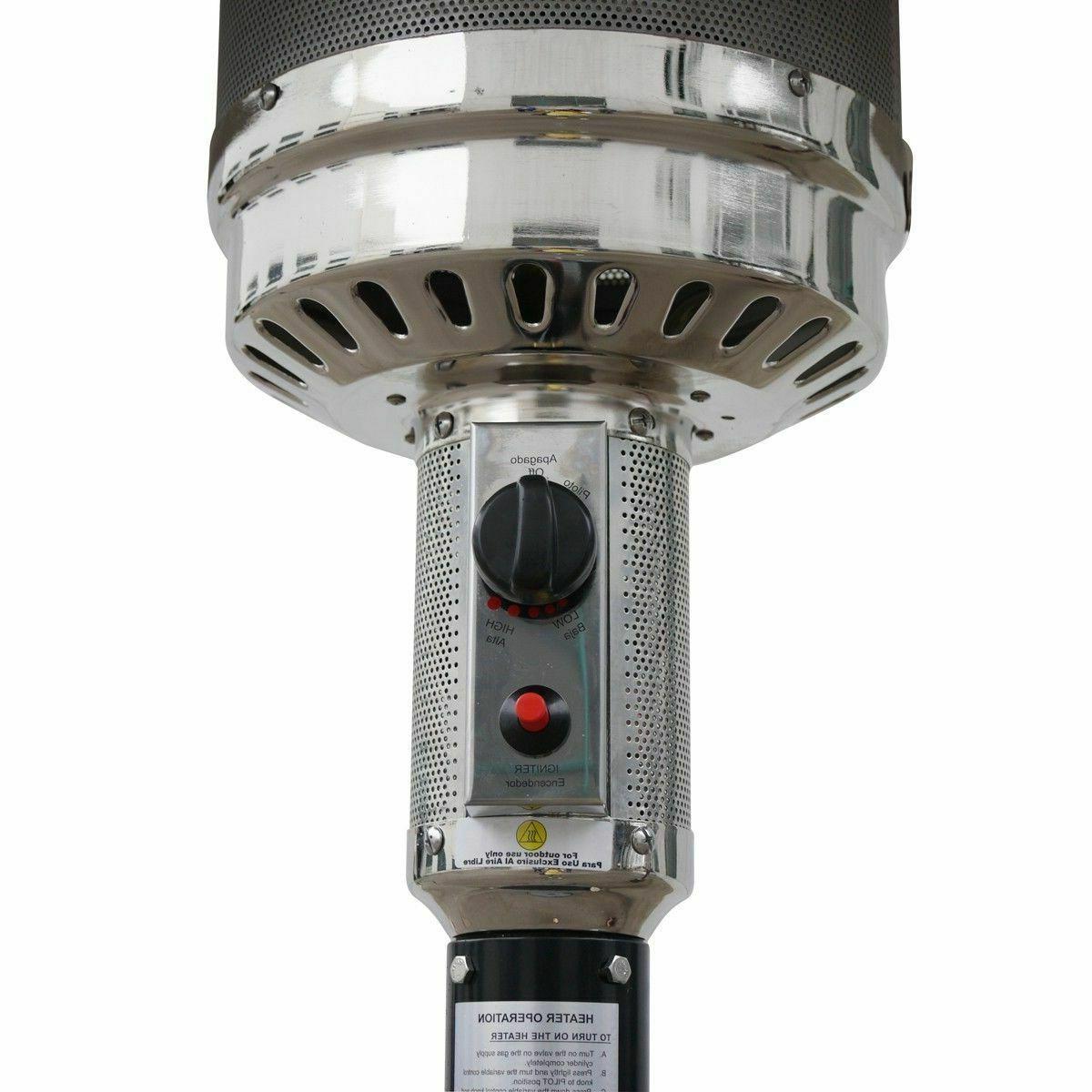 New Heater Standing Gas