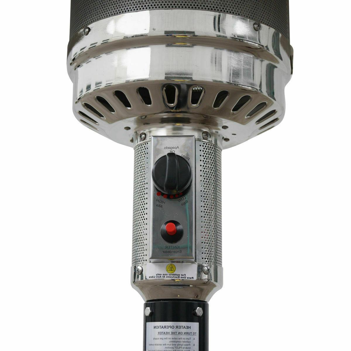 New Garden Heater Gas w/accessories