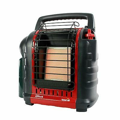 NEW MR. HEATER MH9BX BUDDY INDOOR-SAFE PORTABLE