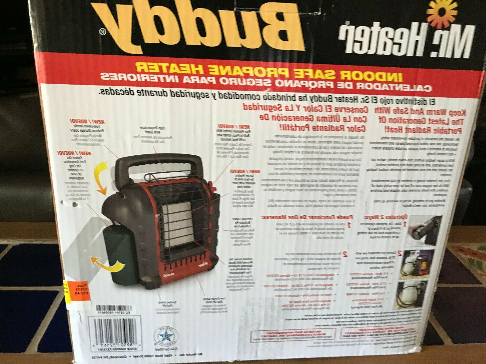 NIB Heater Buddy 9000 BTU Propane Heater