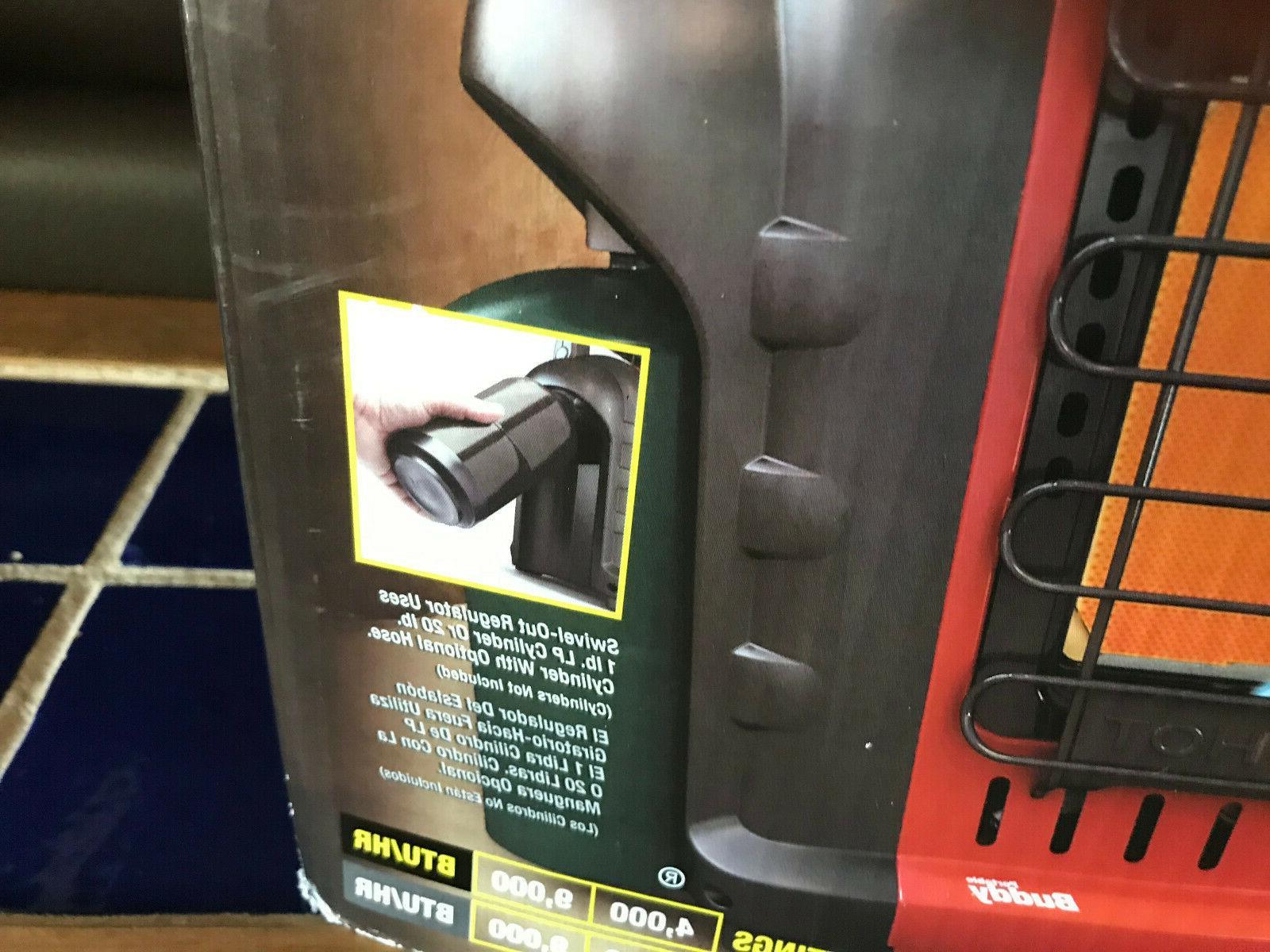 NIB Buddy BTU Propane Heater