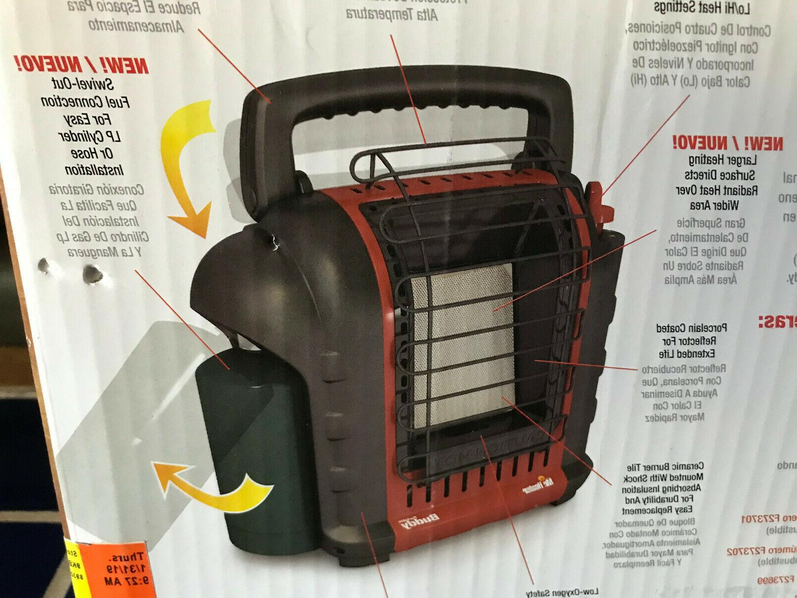 NIB Mr. Heater Buddy 9000 Heater