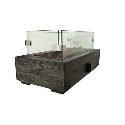 Outdoor Fire Pit Gas Table Top Fireplace