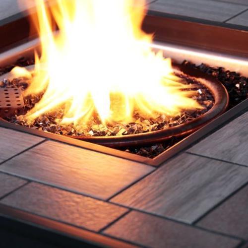 BALI Gas Fireplace 50,000BTU Fire Pit Home garden Gift