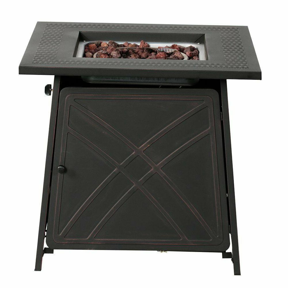 BALI OUTDOORS Fireplace Table 50,000BTU Fire Gift