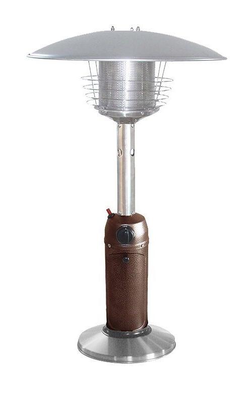 outdoor patio heater tabletop gas heat lamp