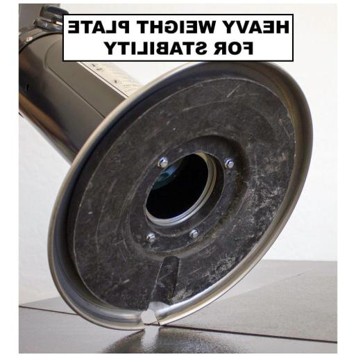 Patio Heater 11000 Portable Adjustable Gas Thermocouple Anti
